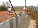 Bau Tribüne Platz 4