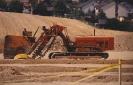 Bau der Tennisplätze 1990
